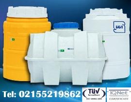 منبع انبساط و مخزن 100 پلی اتیلن