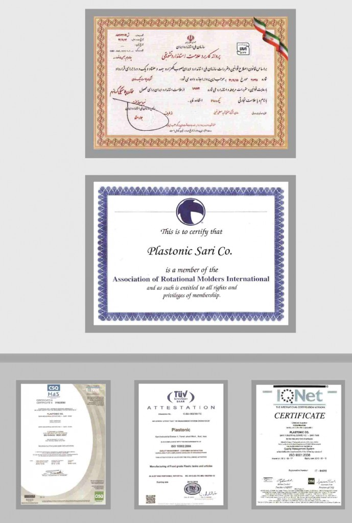plastonic certificates